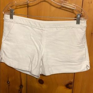 Lilly Pulitzer white shorts size 4